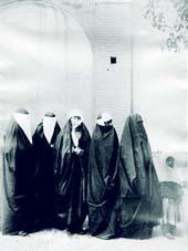 لباس زن قاجاریه